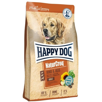 Happy Dog Naturcroq Rind & Reis Hundefutter Preview Image