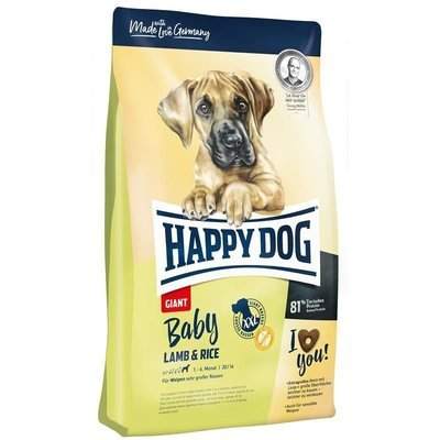 Happy Dog Supreme Baby Giant Lamb & Rice Preview Image