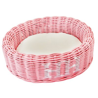 Happy House Rattan Korb oval, farbig Preview Image