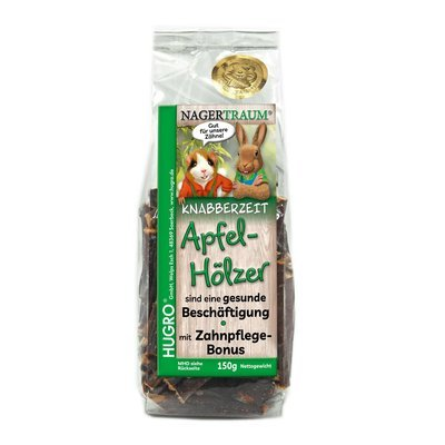 Hugro® Nagertraum Apfel-Knabberhölzer Preview Image