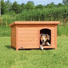 TRIXIE Hundehütte Natura mit Flachdach Preview Image