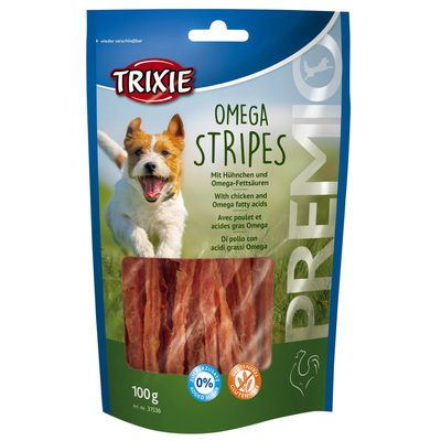 TRIXIE Hundesnack Omega Stripes mit Hühnchen Preview Image