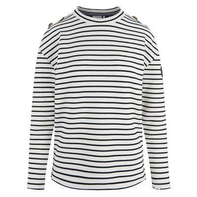 HV Society Streifen Sweater Sage Preview Image