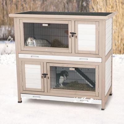 TRIXIE Isolierter Kaninchenstall für Draußen Preview Image