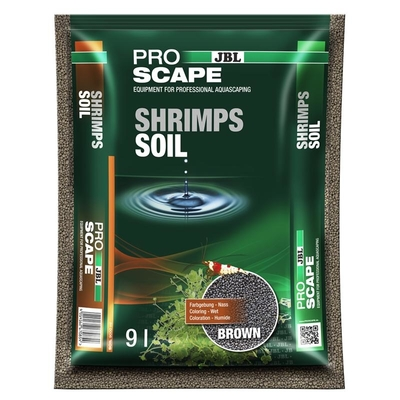JBL ProScape ShrimpSoil BROWN Bodengrund für Garnelen-Aquarien Preview Image