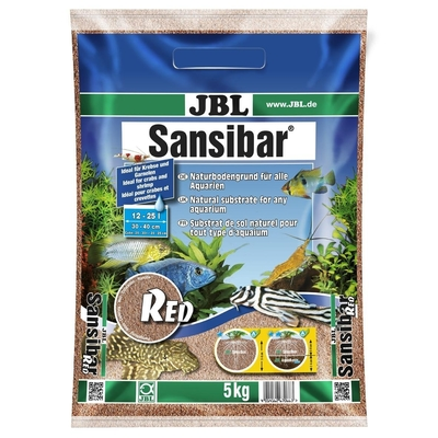 JBL Sansibar RED Bodengrund für Süß- und Meerwasser-Aquarien Preview Image