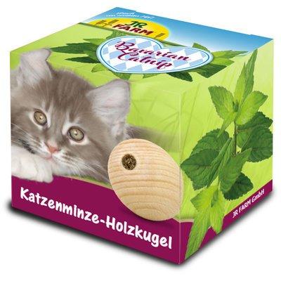 JR Farm Bavarian Catnip Katzenminze-Holzkugel Preview Image