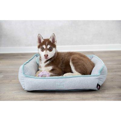 TRIXIE Junior Bett aus Plüsch für Welpen eckig Preview Image