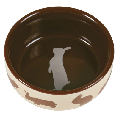 TRIXIE Kaninchennapf mit Motiv aus Keramik Preview Image