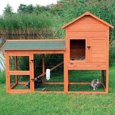 TRIXIE Kaninchenstall Natura mit Auslauf Preview Image