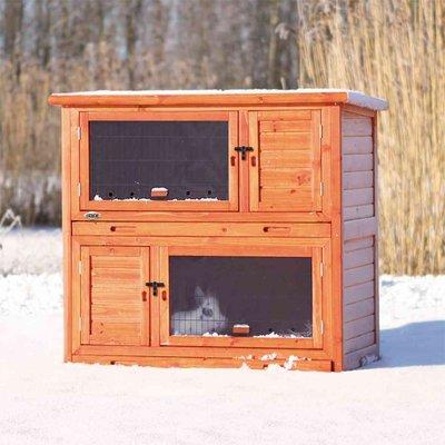 TRIXIE Kaninchenstall winterfest mit Wärmedämmung isoliert Preview Image