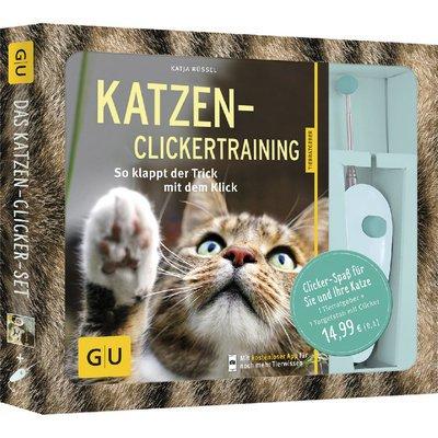 GU Verlag Katzen-Clickertraining Buch mit Targetstab Preview Image