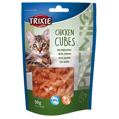TRIXIE Katzen Leckerlie Premio Chicken Cubes Preview Image