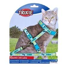 TRIXIE Katzengeschirr mit Leine aus Nylon Preview Image