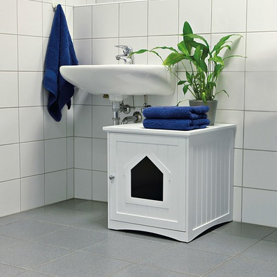 TRIXIE Katzenhaus für Katzentoilette Preview Image