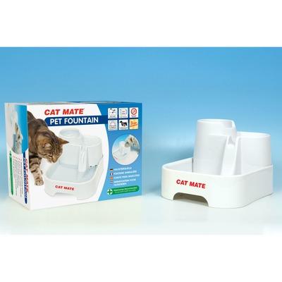 CAT MATE Haustierquelle Trinkbrunnen für Hunde und Katzen Preview Image