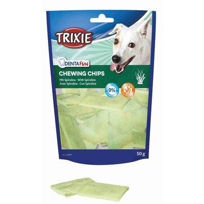 TRIXIE Kauchips mit Spirulina Algen für Hunde Preview Image