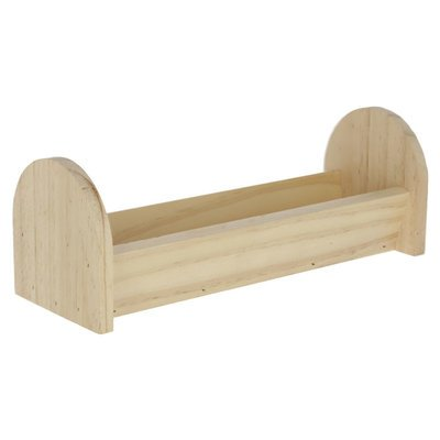 Kerbl Holz Futtertrog für Nager Preview Image