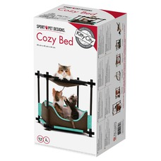 SportPet Designs Kitty City Cozy Bed Sleeper Preview Image