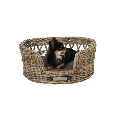Happy House Klassischer Luxury Haustier-Rattankorb Oval Preview Image