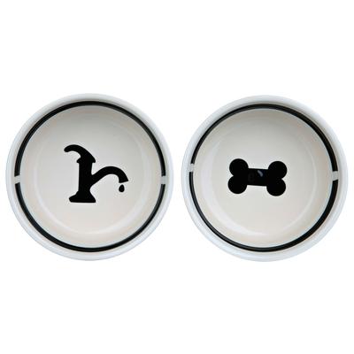 TRIXIE Napfset aus Keramik mit Ständer Eat on Feet Preview Image