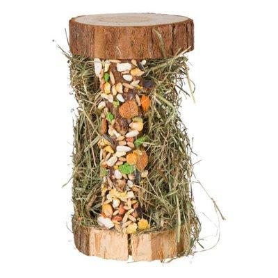TRIXIE Natur-Snack Holzturm mit Heufüllung Preview Image