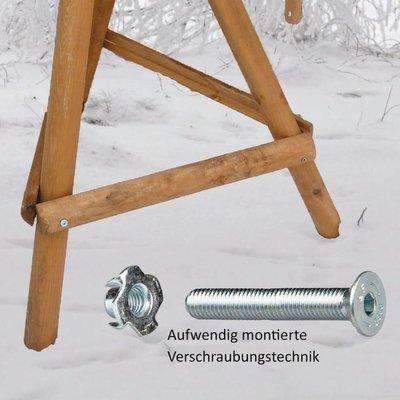 Niemöller Vogelhaus Ständer Kiefer für Reet Vogelhäuser Preview Image