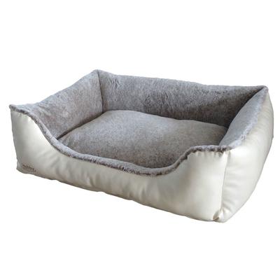 Nobby Komfort Bett für Hunde und Katzen eckig Cali Preview Image