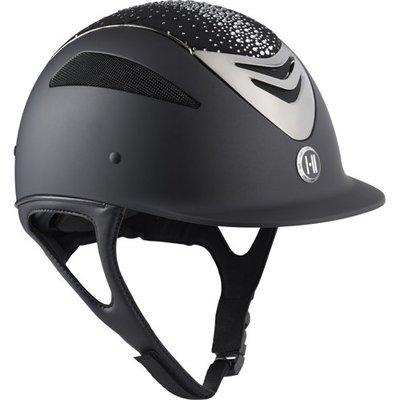 OneK Defender Pro Matt sparkle chrome Reit Schutz Helm Preview Image