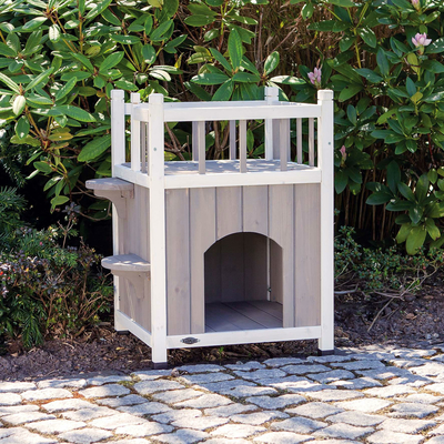 TRIXIE Outdoor Katzenhaus Cat's Home mit Balkon Preview Image