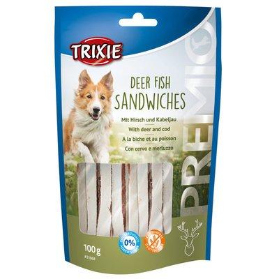 TRIXIE PREMIO Sandwiches mit Hirsch und Kabeljau Preview Image