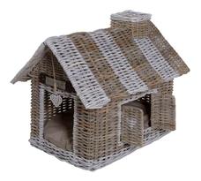 Happy House Rattan Villa für Hunde und Katzen Preview Image