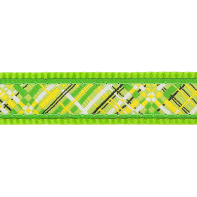 Red Dingo Hundegeschirr Design Flanno Lime Green Preview Image