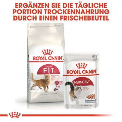 Royal Canin Fit Trockenfutter für aktive Katzen Preview Image