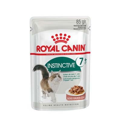 Royal Canin Instinctive 7+ Nassfutter in Soße für ältere Katzen Preview Image