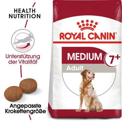 Royal Canin Medium Adult 7+  Trockenfutter für ältere mittelgroße Hunde Preview Image