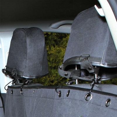 TRIXIE Rücksitz Auto-Schondecke teilbar mit Kopfstützen-Schutz Preview Image