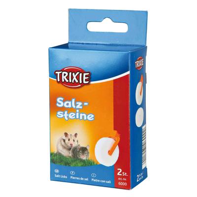 TRIXIE Salzstein Mineralstein mit Halter für Hamster und Mäuse Preview Image