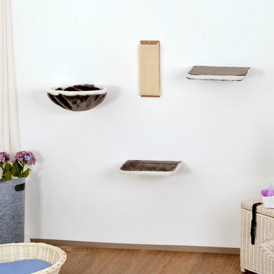 Silvio Design Kletterwand für Katzen 4-teilig Preview Image
