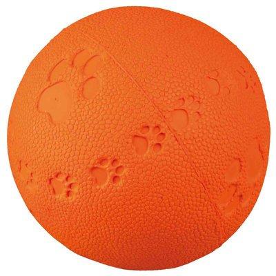 TRIXIE Spielball für Hunde aus Gummi mit Quietscher Preview Image