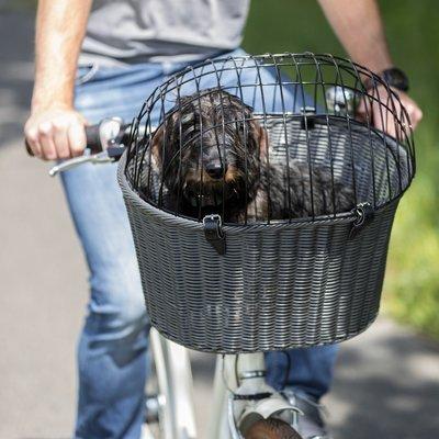 TRIXIE Fahrradkorb mit Gitter für Lenker Preview Image