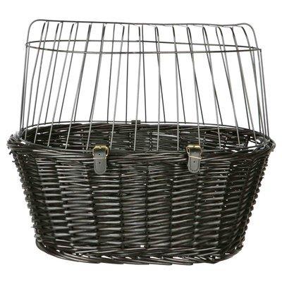 TRIXIE Fahrradkorb mit Gitter, schwarz Preview Image