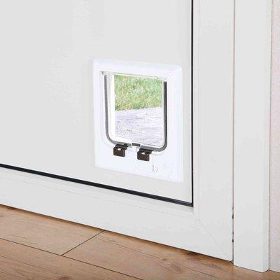 TRIXIE Katzenklappe 4 Wege mit Halsband Magnet Preview Image