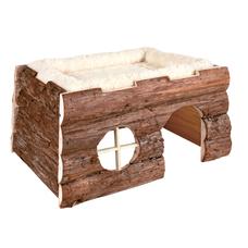 TRIXIE Tilde Kleintier Haus mit Kuschelbett Preview Image
