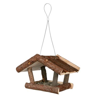 TRIXIE Vogelhaus aus Naturholz Futterhaus Preview Image