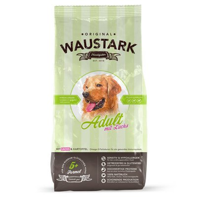 Waustark Hundefutter mit Lachs Preview Image