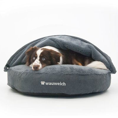 wauweich Das Gemütliche - Hundebett mit Höhle Preview Image