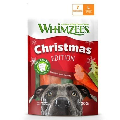 Whimzees Dog Snack Mixpack Weihnachten Preview Image