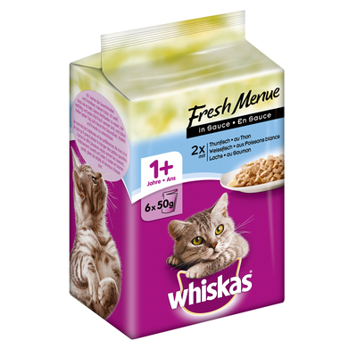 Whiskas Adult 1+ - Fresh Menue in Sauce Preview Image