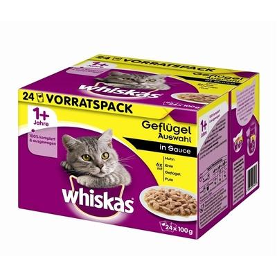 Whiskas Frischebeutel Multipack 1+ Katzenfutter Preview Image